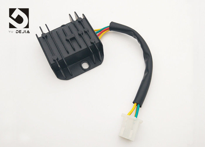 FXD 125 Motorcycle Voltage Regulator Rectifier Four Wire External Capacitor Switching Regulator