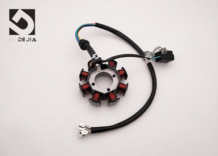 8 Windings Motorcycle Magneto Stator , Motorcycle Starter Coil AC CB125D-8