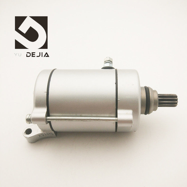 CG200 Motorcycle Electric Starter / Polished Motorcycle Engine Parts